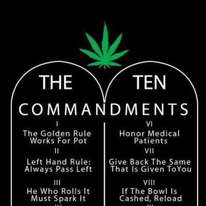 Ten Commandments of Weed 2