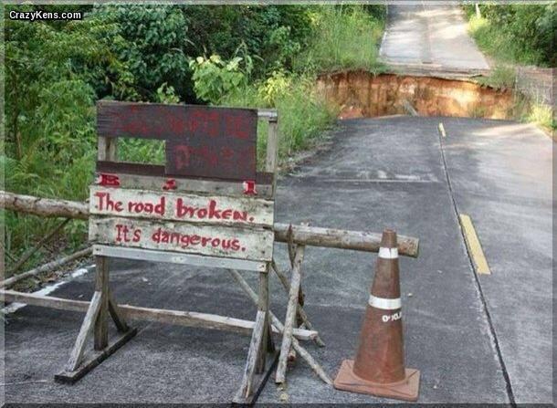 Road Broken