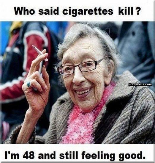 Who said cigarettes kill