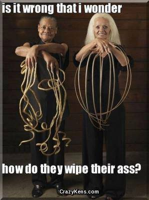 How do they wipe their asses?