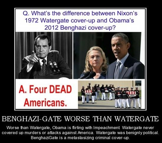 Benghazi cover up worse than watergate