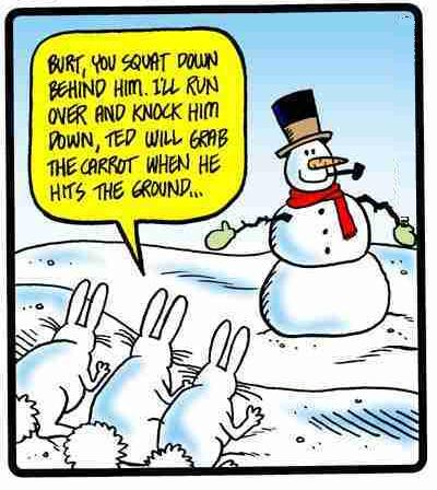 Watch out Snowman