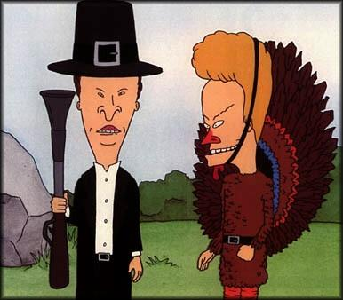 Image result for beavis thanksgiving
